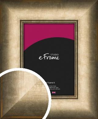 Wide Dark Burnished Bronze / Copper Picture Frame (VRMP-984)