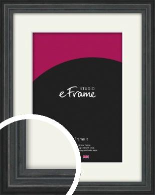 Dramatic Grey Picture Frame & Mount (VRMP-986-M)