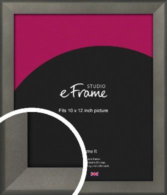 Graphite Grey Picture Frame, 10x12