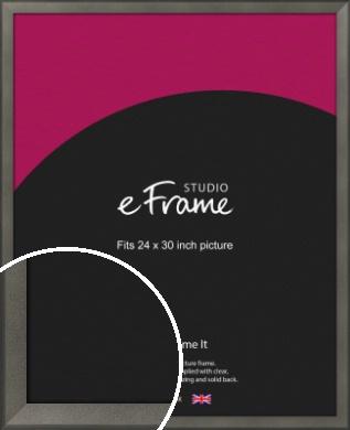 Graphite Grey Picture Frame, 24x30