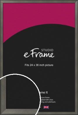Graphite Grey Picture Frame, 24x36