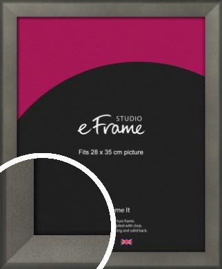 Graphite Grey Picture Frame, 28x35cm (VRMP-756-28x35cm)