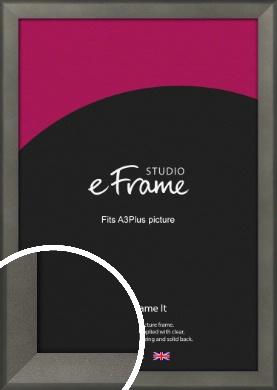 Graphite Grey Picture Frame, A3Plus (VRMP-756-329x483mm)