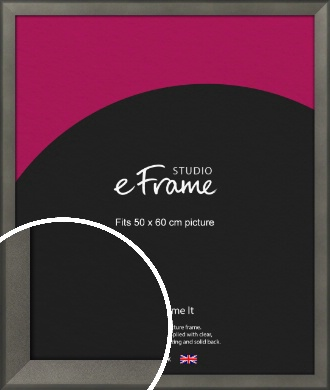 Graphite Grey Picture Frame, 50x60cm (VRMP-756-50x60cm)