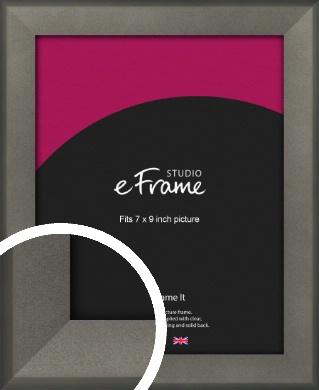 Graphite Grey Picture Frame, 7x9