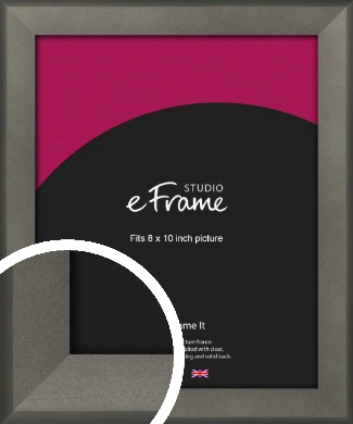 Graphite Grey Picture Frame, 8x10