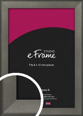 Graphite Grey Picture Frame, 8x12