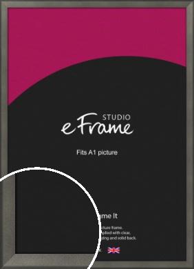 Graphite Grey Picture Frame, A1 (594x841mm) (VRMP-756-A1)