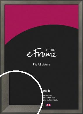 Graphite Grey Picture Frame, A2 (420x594mm) (VRMP-756-A2)