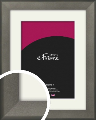 Graphite Grey Picture Frame & Mount (VRMP-756-M)