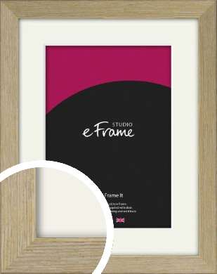 Authentic Light Natural Wood Picture Frame & Mount (VRMP-997-M)
