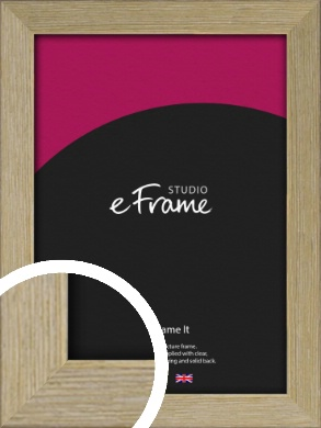 Authentic Light Natural Wood Picture Frame (VRMP-997)