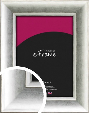 Fashionable Silver Picture Frame (VRMP-1000)