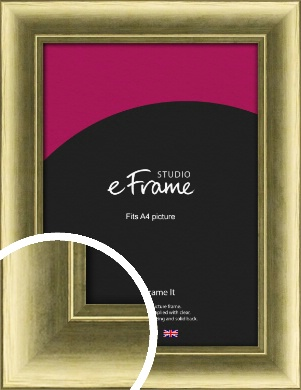 Luxe Gold Picture Frame, A4 (210x297mm) (VRMP-1001-A4)