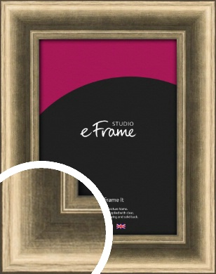 Light Burnished Bronze / Copper Picture Frame (VRMP-1002)