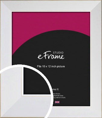 Easy Going Timeless White Picture Frame, 10x12
