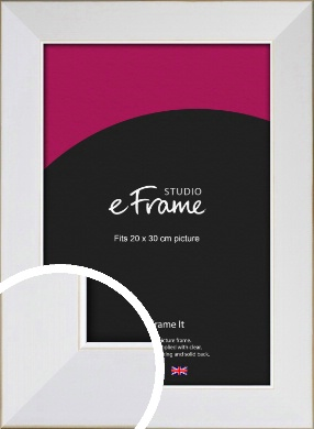 Easy Going Timeless White Picture Frame, 20x30cm (8x12