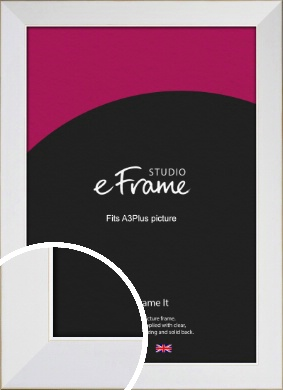 Easy Going Timeless White Picture Frame, A3Plus (VRMP-1003-329x483mm)