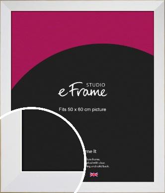 Easy Going Timeless White Picture Frame, 50x60cm (VRMP-1003-50x60cm)