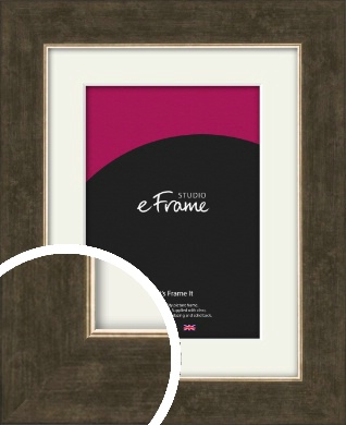 Elegant Bronze / Copper Picture Frame & Mount (VRMP-1006-M)