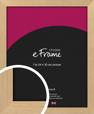 Gallery Natural Wood Picture Frame, 24x30cm (VRMP-438-24x30cm)