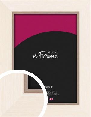 Simple Boxy Cream Picture Frame (VRMP-607)