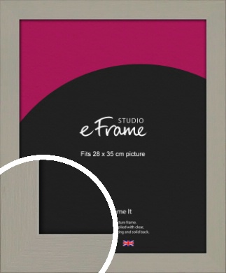 Pebble Grey Picture Frame, 28x35cm (VRMP-1025-28x35cm)