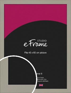 Pebble Grey Picture Frame, 45x60cm (VRMP-1025-45x60cm)