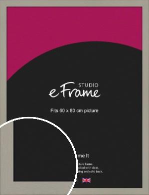 Pebble Grey Picture Frame, 60x80cm (VRMP-1025-60x80cm)