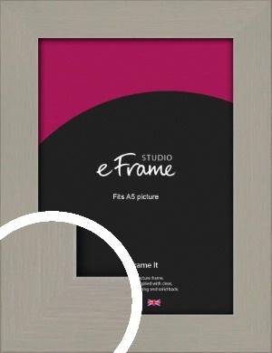 Pebble Grey Picture Frame, A5 (148x210mm) (VRMP-1025-A5)