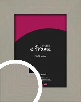 Pebble Grey Picture Frame, A6 (105x148mm) (VRMP-1025-A6)