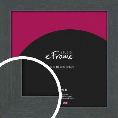 Slate Grey Picture Frame, 10x10