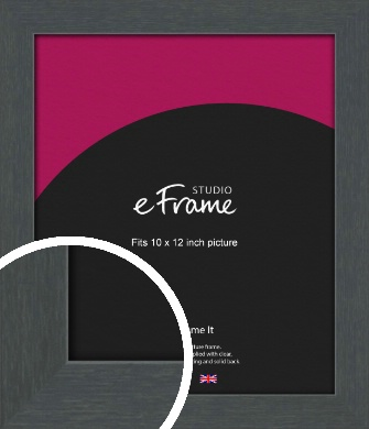 Slate Grey Picture Frame, 10x12