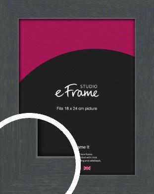 Slate Grey Picture Frame, 18x24cm (VRMP-1026-18x24cm)