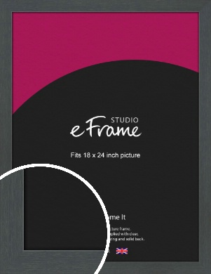 Slate Grey Picture Frame, 18x24