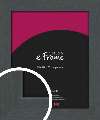 Slate Grey Picture Frame, 20x25cm (8x10