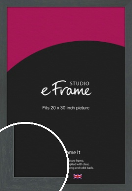 Slate Grey Picture Frame, 20x30