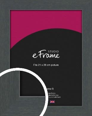 Slate Grey Picture Frame, 21x28cm (VRMP-1026-21x28cm)
