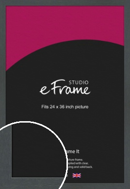 Slate Grey Picture Frame, 24x36
