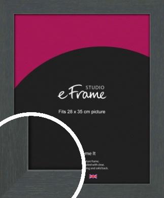Slate Grey Picture Frame, 28x35cm (VRMP-1026-28x35cm)