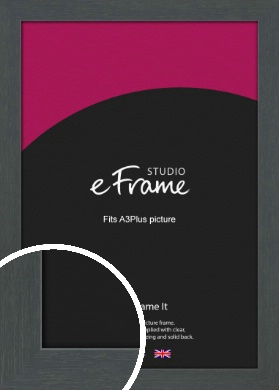 Slate Grey Picture Frame, A3Plus (VRMP-1026-329x483mm)
