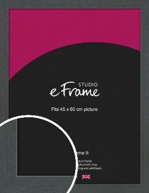 Slate Grey Picture Frame, 45x60cm (VRMP-1026-45x60cm)