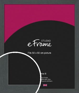 Slate Grey Picture Frame, 50x60cm (VRMP-1026-50x60cm)