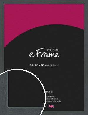 Slate Grey Picture Frame, 60x80cm (VRMP-1026-60x80cm)