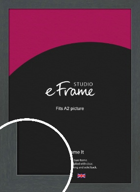 Slate Grey Picture Frame, A2 (420x594mm) (VRMP-1026-A2)
