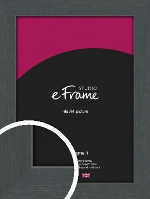 Slate Grey Picture Frame, A4 (210x297mm) (VRMP-1026-A4)