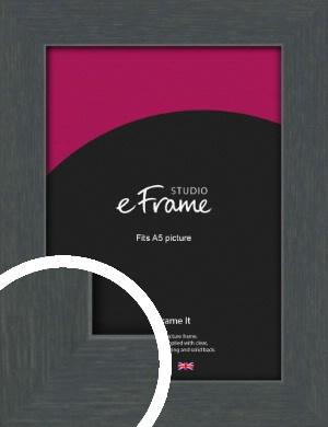 Slate Grey Picture Frame, A5 (148x210mm) (VRMP-1026-A5)