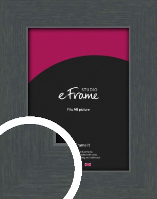 Slate Grey Picture Frame, A6 (105x148mm) (VRMP-1026-A6)