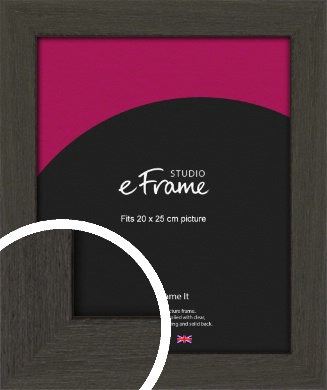 Washed Black Picture Frame, 20x25cm (8x10