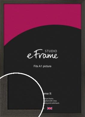 Washed Black Picture Frame, A1 (594x841mm) (VRMP-412-A1)